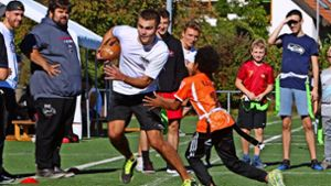 American Football in Leonberg: Charity Bowl: Der Anfang ist gemacht